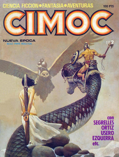 Cover for Cimoc (NORMA Editorial, 1981 series) #2