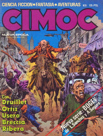 Cover for Cimoc (NORMA Editorial, 1981 series) #9