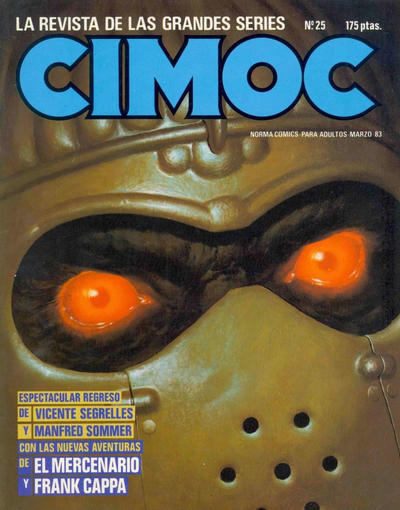 Cover for Cimoc (NORMA Editorial, 1981 series) #25