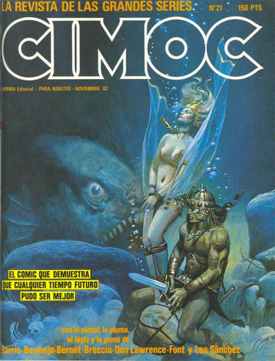 Cover for Cimoc (NORMA Editorial, 1981 series) #21