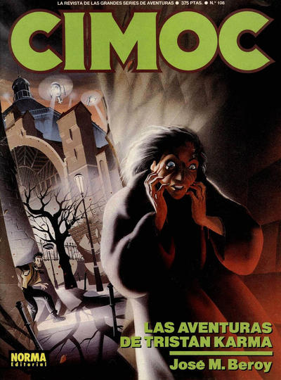 Cover for Cimoc (NORMA Editorial, 1981 series) #108