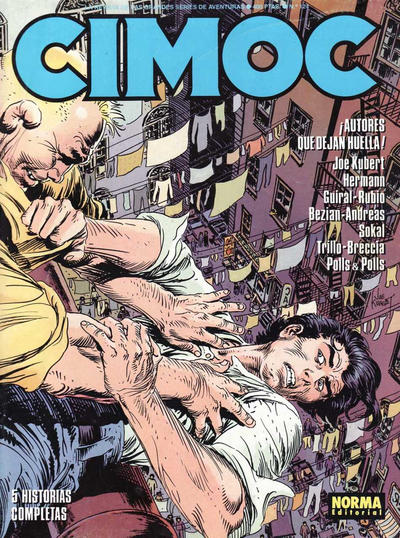 Cover for Cimoc (NORMA Editorial, 1981 series) #124