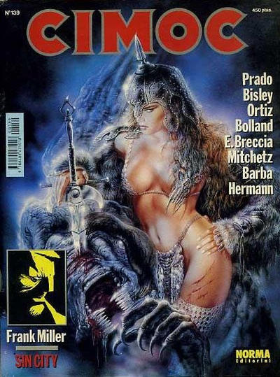 Cover for Cimoc (NORMA Editorial, 1981 series) #139