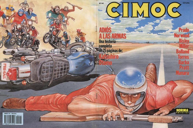 Cover for Cimoc (NORMA Editorial, 1981 series) #141