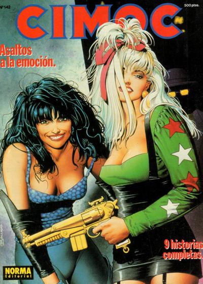 Cover for Cimoc (NORMA Editorial, 1981 series) #142