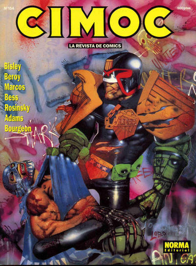 Cover for Cimoc (NORMA Editorial, 1981 series) #154