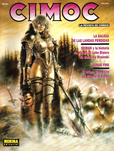 Cover for Cimoc (NORMA Editorial, 1981 series) #157