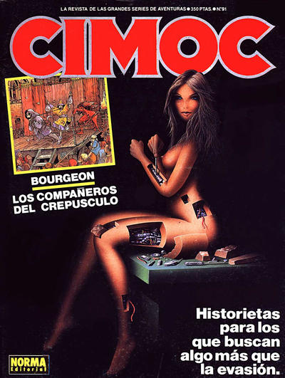Cover for Cimoc (NORMA Editorial, 1981 series) #91