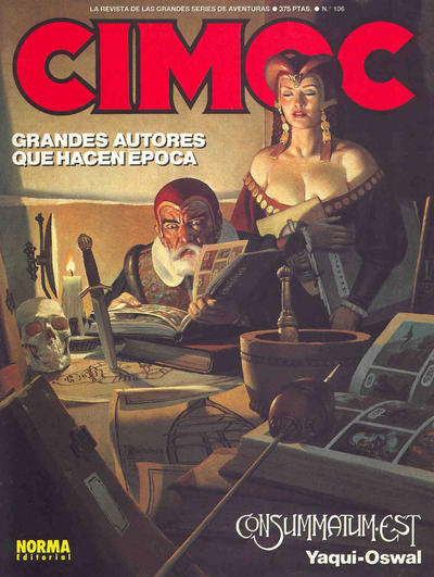 Cover for Cimoc (NORMA Editorial, 1981 series) #106