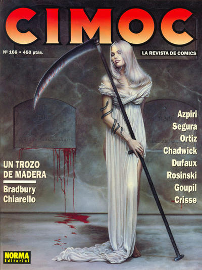 Cover for Cimoc (NORMA Editorial, 1981 series) #166