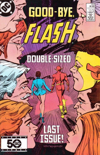 Cover for The Flash (DC, 1959 series) #350 [Direct]