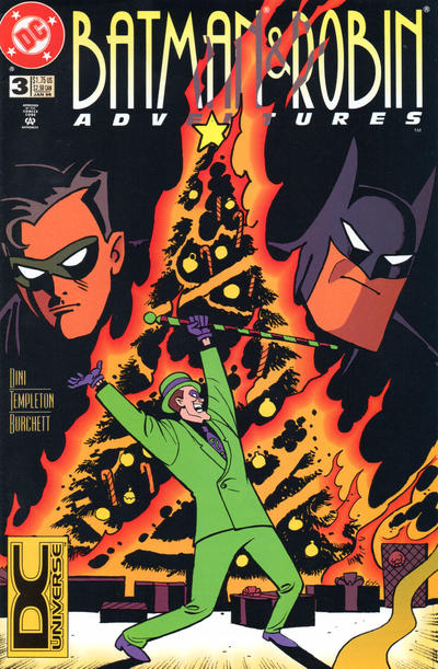 Cover for The Batman and Robin Adventures (DC, 1995 series) #3 [Direct Sales]