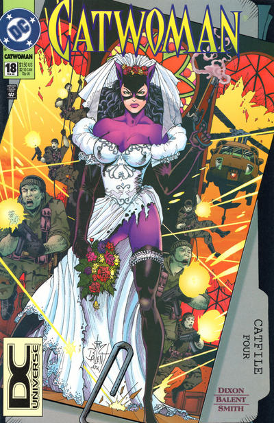 Cover for Catwoman (DC, 1993 series) #18 [Direct Edition]