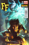 Cover for FF (Marvel, 2013 series) #8 [Wolverine Through The Ages Variant by Todd Nauck]