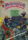 Cover for Los Cuatro Fantasticos (Novedades, 1980 series) #24