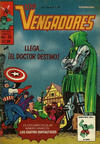 Cover for Los Vengadores (Novedades, 1981 series) #25
