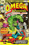 Cover for Omega the Unknown (Marvel, 1976 series) #2 [30¢]