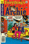 Cover for Everything's Archie (Archie, 1969 series) #63