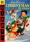 Cover for Bugs Bunny's Christmas Funnies (Dell, 1950 series) #7 [30¢ edition]