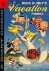 Cover for Bugs Bunny's Vacation Funnies (Dell, 1951 series) #8 [30¢ edition]