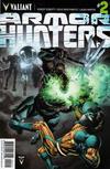 Cover for Armor Hunters (Valiant Entertainment, 2014 series) #2 [Cover A - Doug Braithwaite]