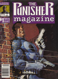 Cover Thumbnail for The Punisher Magazine (Marvel, 1989 series) #1 [Newsstand]