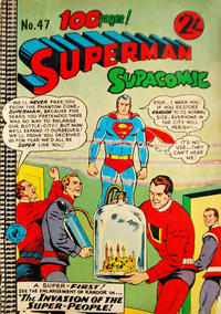 Cover Thumbnail for Superman Supacomic (K. G. Murray, 1959 series) #47