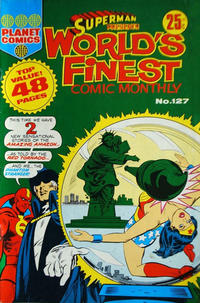 Cover Thumbnail for Superman Presents World's Finest Comic Monthly (K. G. Murray, 1965 series) #127