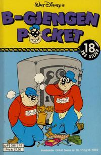 Cover Thumbnail for B-Gjengen pocket (Hjemmet / Egmont, 1986 series) #18