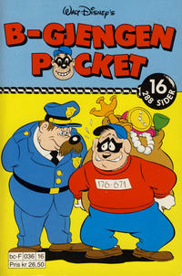 Cover Thumbnail for B-Gjengen pocket (Hjemmet / Egmont, 1986 series) #16