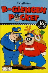Cover Thumbnail for B-Gjengen pocket (Hjemmet / Egmont, 1986 series) #16 [Reutsendelse]