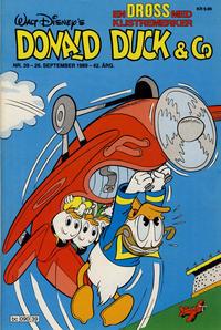 Cover Thumbnail for Donald Duck & Co (Hjemmet / Egmont, 1948 series) #39/1989