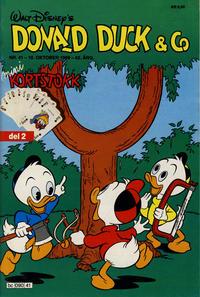 Cover Thumbnail for Donald Duck & Co (Hjemmet / Egmont, 1948 series) #41/1989