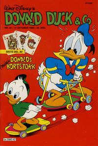Cover Thumbnail for Donald Duck & Co (Hjemmet / Egmont, 1948 series) #42/1989