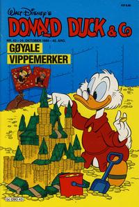 Cover Thumbnail for Donald Duck & Co (Hjemmet / Egmont, 1948 series) #43/1989