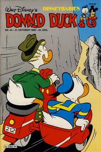 Cover Thumbnail for Donald Duck & Co (Hjemmet / Egmont, 1948 series) #44/1989