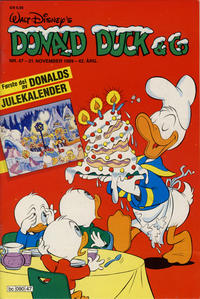 Cover Thumbnail for Donald Duck & Co (Hjemmet / Egmont, 1948 series) #47/1989