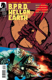Cover Thumbnail for B.P.R.D. Hell on Earth (Dark Horse, 2013 series) #119