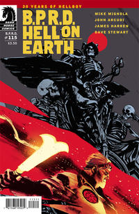 Cover Thumbnail for B.P.R.D. Hell on Earth (Dark Horse, 2013 series) #115
