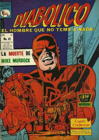 Cover Thumbnail for Diabólico (Editora de Periódicos La Prensa S.C.L., 1966 series) #41