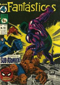 Cover Thumbnail for Los 4 Fantásticos (Editora de Periódicos La Prensa S.C.L., 1962 series) #103