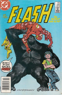 Cover Thumbnail for The Flash (DC, 1959 series) #330 [Newsstand Edition]