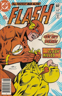 Cover for The Flash (DC, 1959 series) #324 [Canadian]