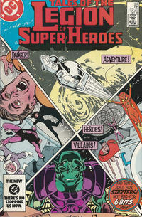 Cover Thumbnail for Tales of the Legion of Super-Heroes (DC, 1984 series) #316 [direct-sales]