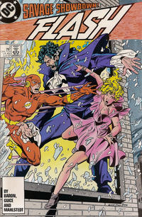 Cover Thumbnail for Flash (DC, 1987 series) #2 [Direct Edition]