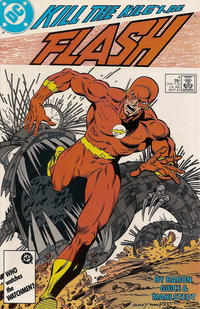 Cover Thumbnail for Flash (DC, 1987 series) #4 [Direct Edition]