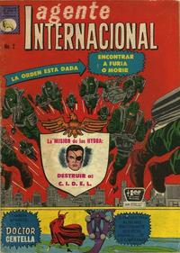 Cover Thumbnail for Agente Internacional (Editora de Periódicos La Prensa S.C.L., 1966 series) #2