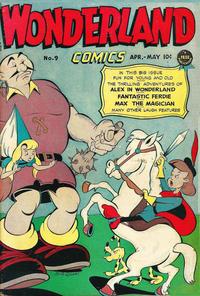 Cover Thumbnail for Wonderland Comics (Prize, 1945 series) #9