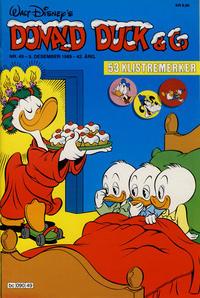 Cover Thumbnail for Donald Duck & Co (Hjemmet / Egmont, 1948 series) #49/1989
