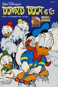 Cover Thumbnail for Donald Duck & Co (Hjemmet / Egmont, 1948 series) #52/1989